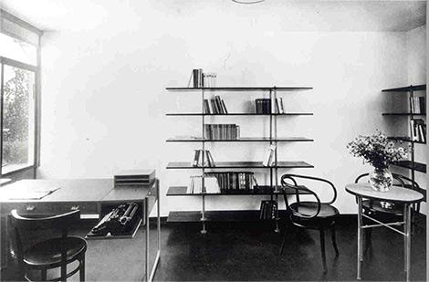He Meeting Of Two Epochs: Thonetu0027s Bentwood Furniture In A Modernist House  At The Weissenhof Estate Stuttgart