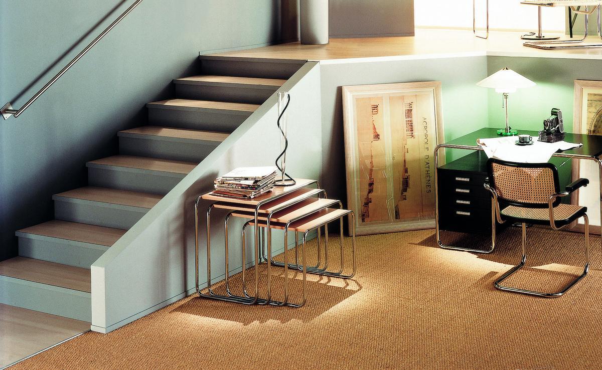 thonet satztischset b 9 von marcel breuer 1925 26. Black Bedroom Furniture Sets. Home Design Ideas