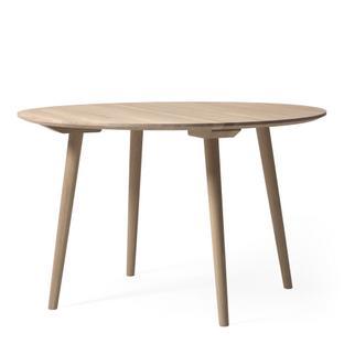 tradition in between tisch rund 120 cm eiche wei. Black Bedroom Furniture Sets. Home Design Ideas