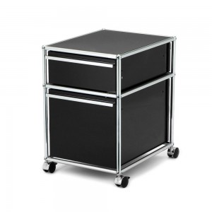 usm haller rollcontainer mit h ngeregistratur von fritz. Black Bedroom Furniture Sets. Home Design Ideas