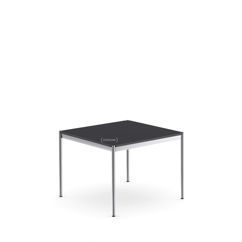 Großartig Esstisch 100x100 Galerie Von Usm Haller Tisch 100 X 100 Cm|linoleum|nero