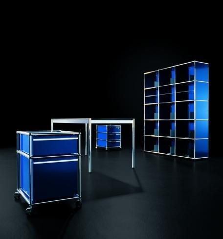 usm haller glastisch von fritz haller paul sch rer 1962 designerm bel von. Black Bedroom Furniture Sets. Home Design Ideas