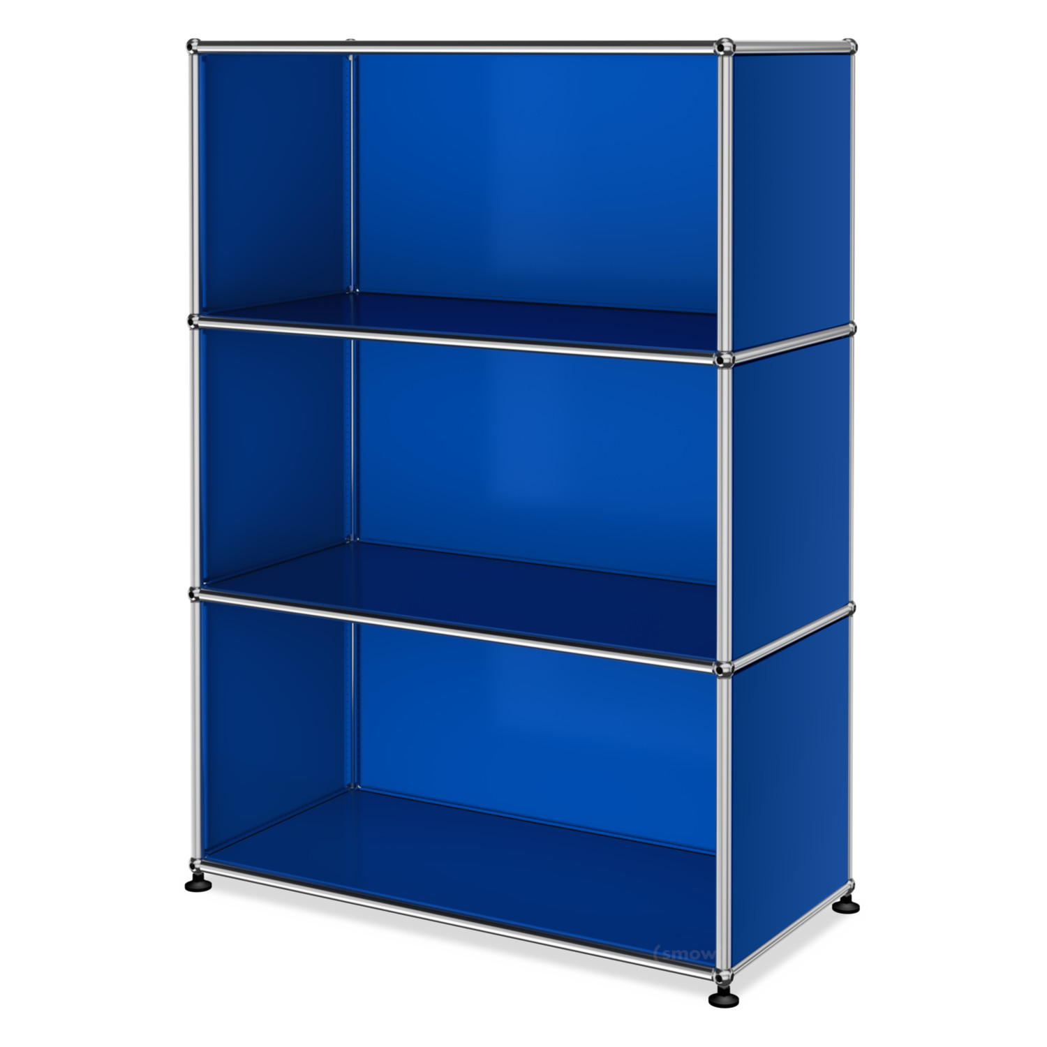 usm haller highboard m offen enzianblau ral 5010 von fritz haller paul sch rer. Black Bedroom Furniture Sets. Home Design Ideas