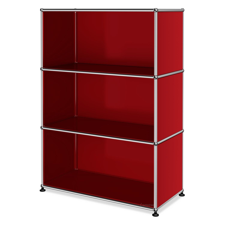 usm haller highboard m offen usm rubinrot von fritz haller paul sch rer designerm bel von. Black Bedroom Furniture Sets. Home Design Ideas