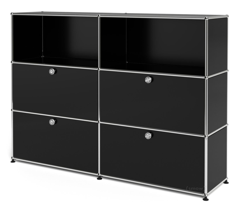 usm haller highboard l mit 4 klappen von fritz haller. Black Bedroom Furniture Sets. Home Design Ideas