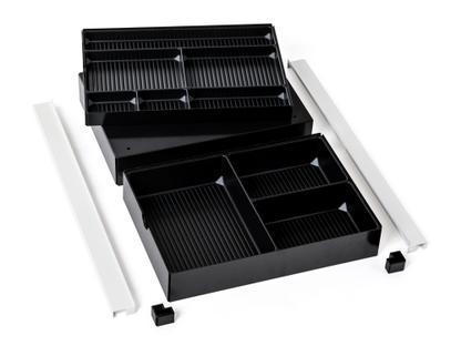USM Inos Materialeinsatz für A6-Schublade (Rollcontainer)