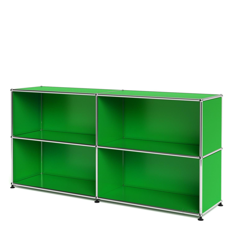 usm haller sideboard l offen usm gr n von fritz haller. Black Bedroom Furniture Sets. Home Design Ideas