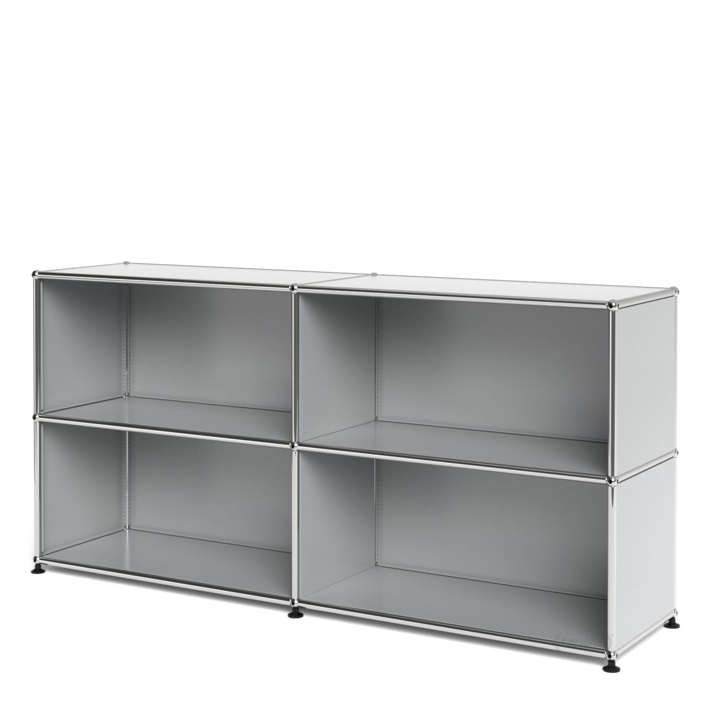 usm haller sideboard l offen lichtgrau ral 7035 von fritz. Black Bedroom Furniture Sets. Home Design Ideas