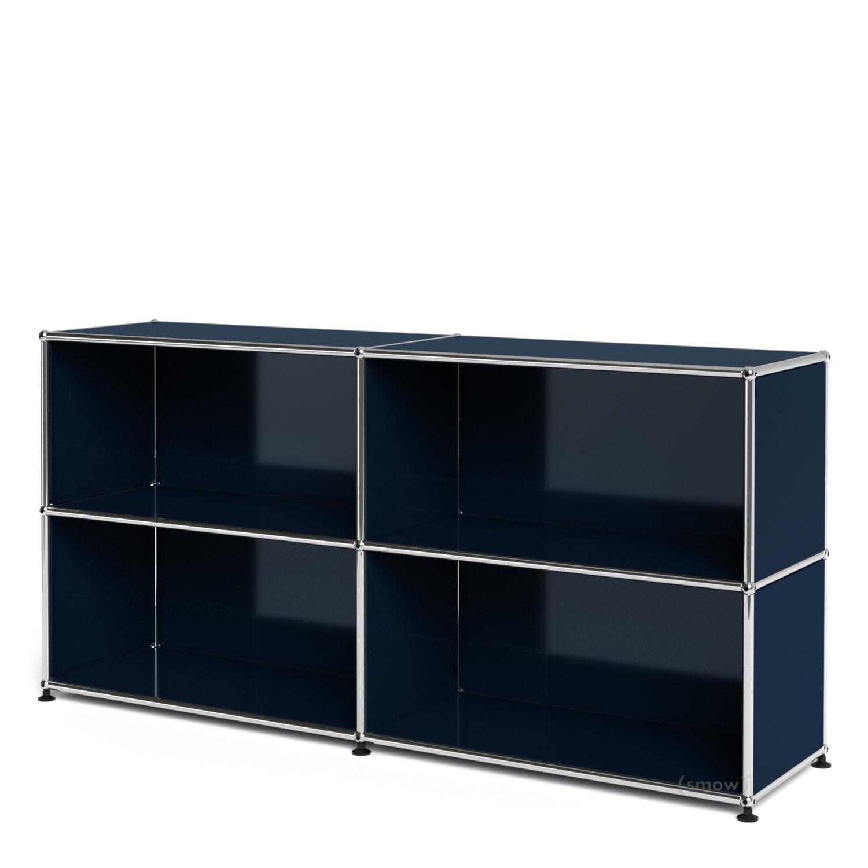 Usm Haller Sideboard L Offen Stahlblau Ral 5011 Von Fritz Haller