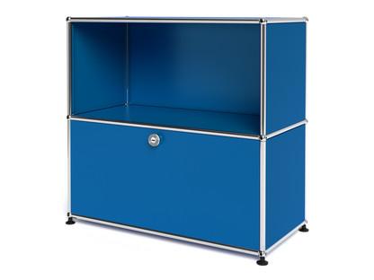 USM Haller Sideboard M mit 1 Klappe Enzianblau RAL 5010
