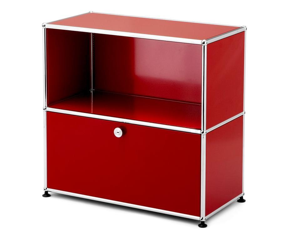 usm haller sideboard m mit 1 klappe von fritz haller paul sch rer designerm bel von. Black Bedroom Furniture Sets. Home Design Ideas