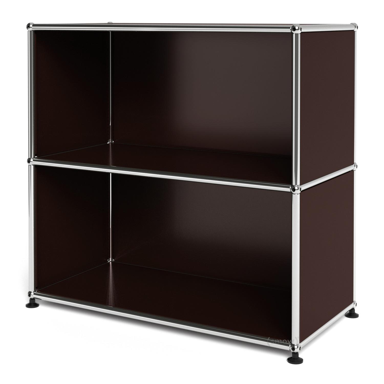 usm haller sideboard m offen usm braun von fritz haller. Black Bedroom Furniture Sets. Home Design Ideas