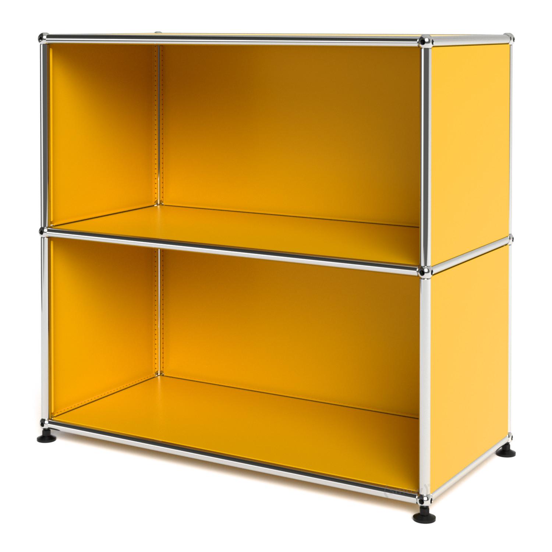 usm haller sideboard m offen goldgelb ral 1004 von fritz. Black Bedroom Furniture Sets. Home Design Ideas