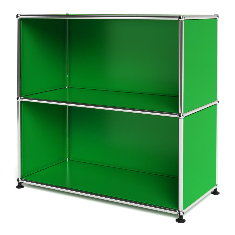 usm haller sideboard m offen usm gr n von fritz haller. Black Bedroom Furniture Sets. Home Design Ideas