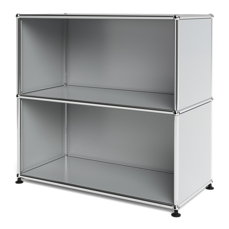 usm haller sideboard m offen lichtgrau ral 7035 von fritz. Black Bedroom Furniture Sets. Home Design Ideas