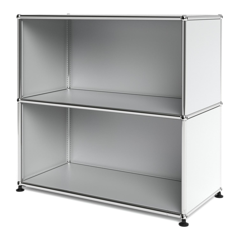 usm haller sideboard m offen usm mattsilber von fritz. Black Bedroom Furniture Sets. Home Design Ideas
