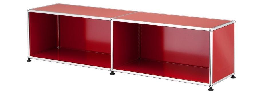 usm haller lowboard l open by fritz haller paul sch rer designer furniture by. Black Bedroom Furniture Sets. Home Design Ideas