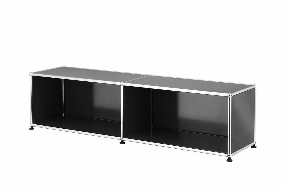 usm haller lowboard l offen von fritz haller paul. Black Bedroom Furniture Sets. Home Design Ideas