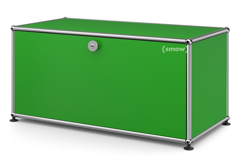 usm haller lowboard m mit 1 klappe usm gr n von fritz. Black Bedroom Furniture Sets. Home Design Ideas
