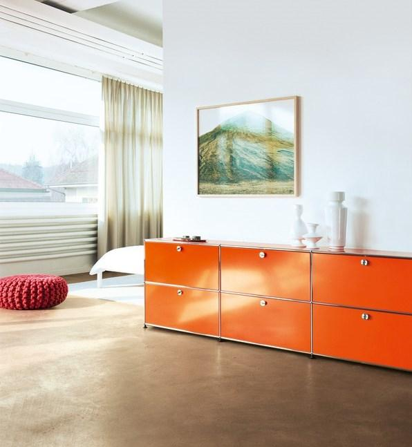 usm haller lowboard m offen von fritz haller paul. Black Bedroom Furniture Sets. Home Design Ideas
