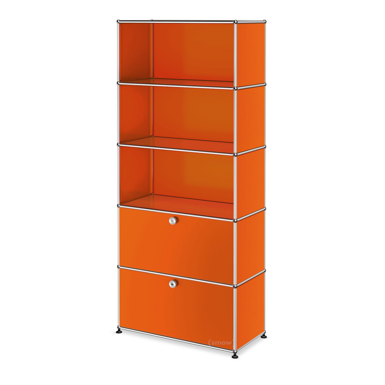 usm haller aktenregal m individualisierbar reinorange. Black Bedroom Furniture Sets. Home Design Ideas