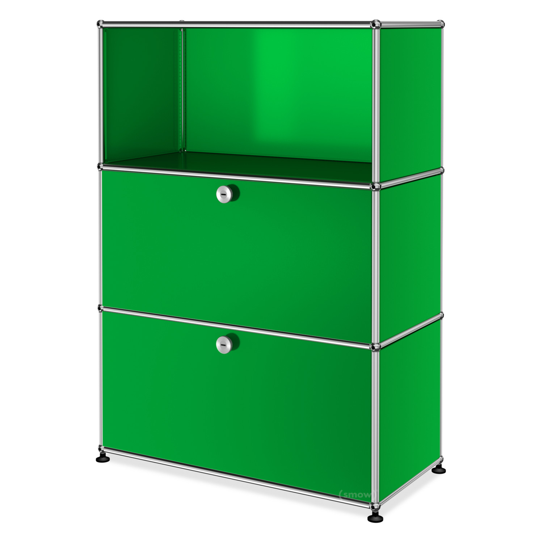 usm haller highboard m individualisierbar usm gr n. Black Bedroom Furniture Sets. Home Design Ideas