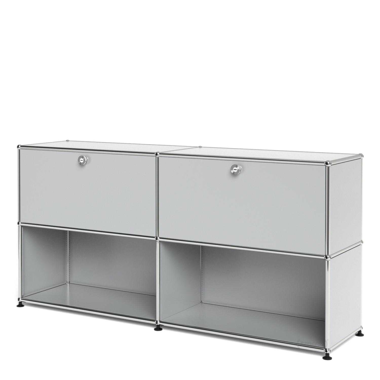 usm haller sideboard l individualisierbar lichtgrau ral. Black Bedroom Furniture Sets. Home Design Ideas