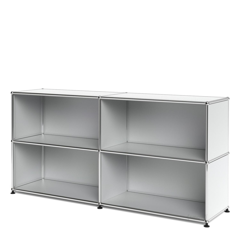 usm haller sideboard l individualisierbar usm mattsilber. Black Bedroom Furniture Sets. Home Design Ideas