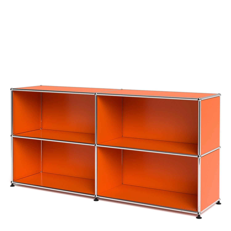 usm haller sideboard l individualisierbar reinorange ral. Black Bedroom Furniture Sets. Home Design Ideas