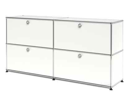 usm haller sideboard l individualisierbar reinwei ral. Black Bedroom Furniture Sets. Home Design Ideas