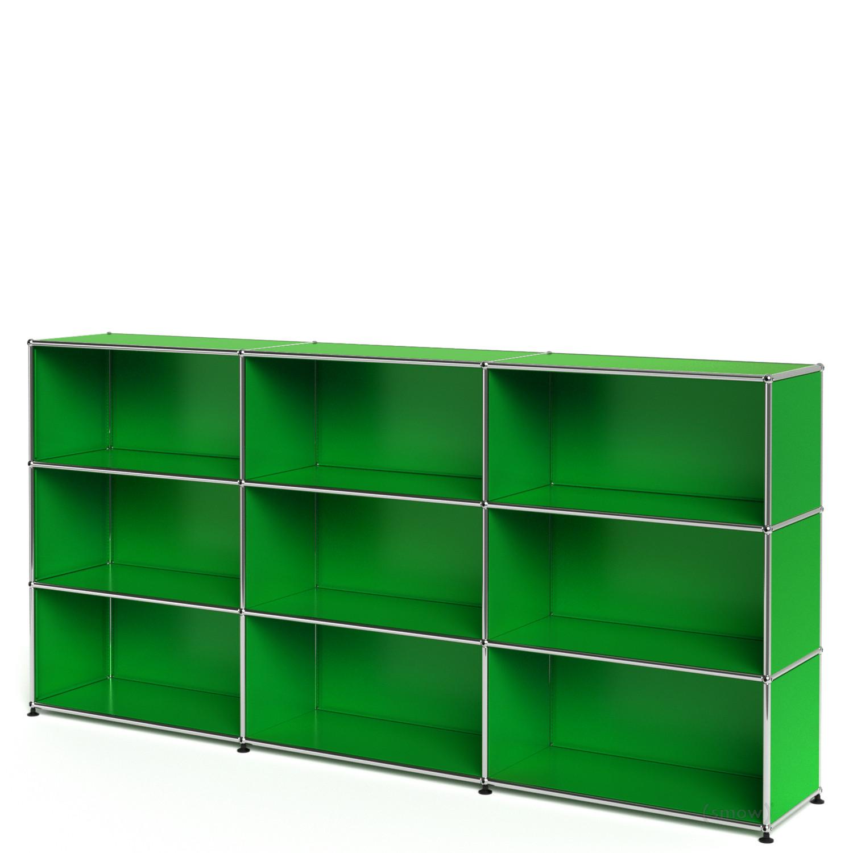 usm haller highboard xl individualisierbar usm gr n. Black Bedroom Furniture Sets. Home Design Ideas