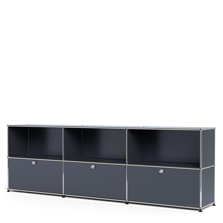 usm haller sideboard xl individualisierbar anthrazitgrau. Black Bedroom Furniture Sets. Home Design Ideas