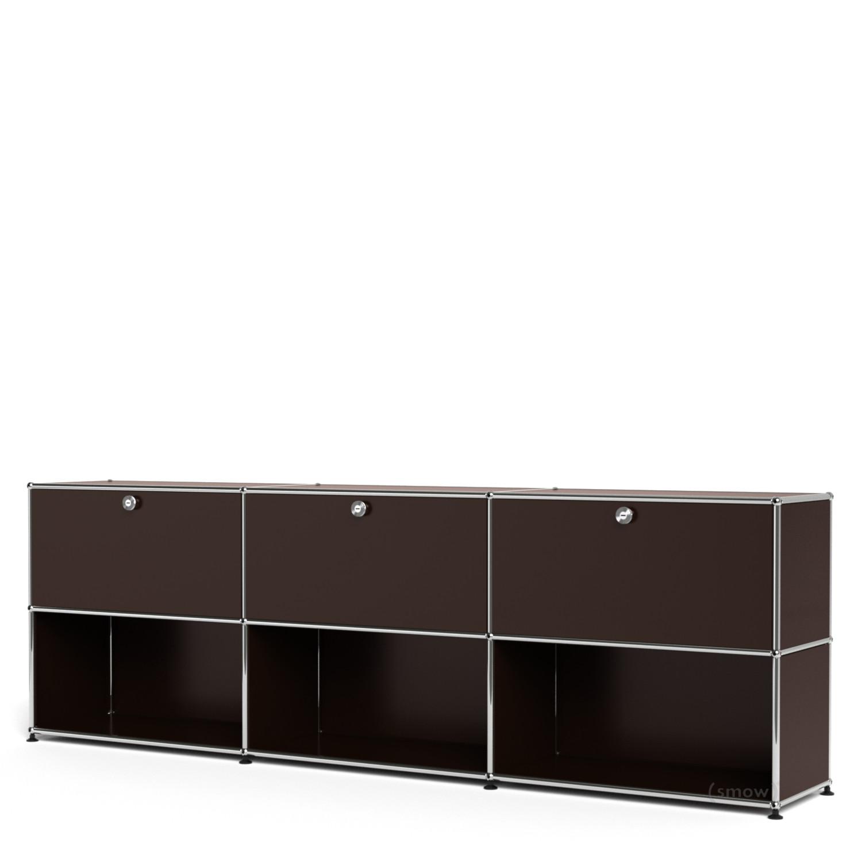 usm haller sideboard xl individualisierbar usm braun. Black Bedroom Furniture Sets. Home Design Ideas