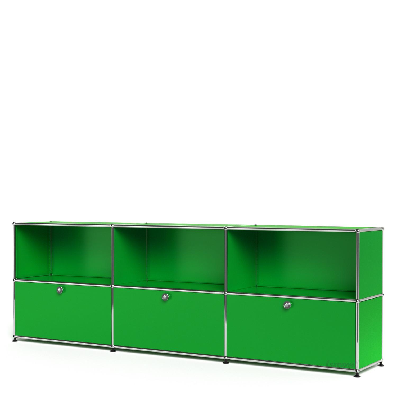 usm haller sideboard xl individualisierbar usm gr n. Black Bedroom Furniture Sets. Home Design Ideas