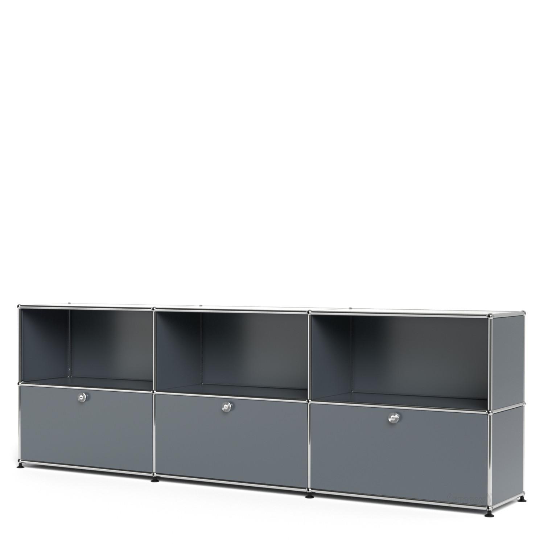 usm haller sideboard xl individualisierbar mittelgrau. Black Bedroom Furniture Sets. Home Design Ideas