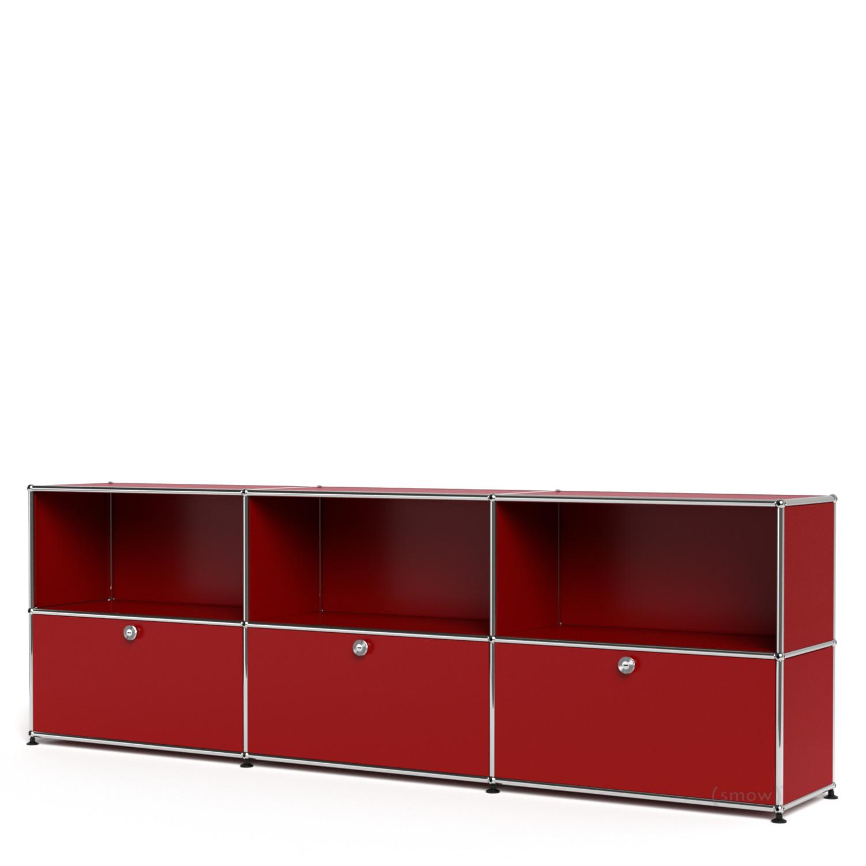 usm haller sideboard xl individualisierbar usm rubinrot. Black Bedroom Furniture Sets. Home Design Ideas