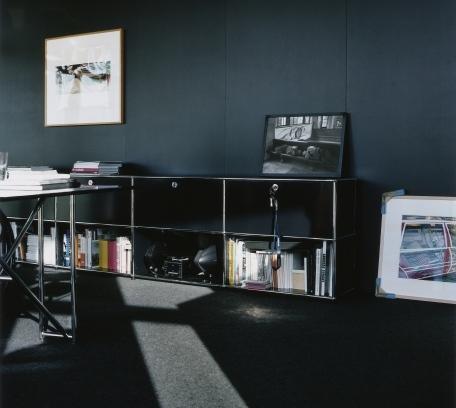 usm haller aktenregal l individualisierbar von fritz haller paul sch rer designerm bel von. Black Bedroom Furniture Sets. Home Design Ideas