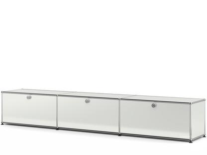 USM Haller Lowboard XL, individualisierbar Lichtgrau RAL 7035|Mit 3 Klappen|35 cm