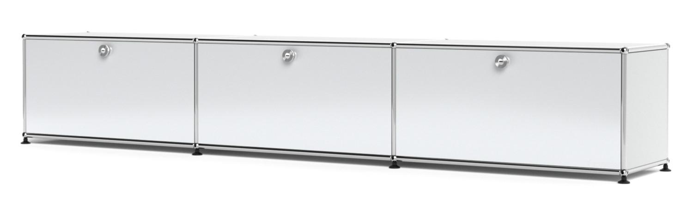 usm haller lowboard xl individualisierbar usm mattsilber. Black Bedroom Furniture Sets. Home Design Ideas