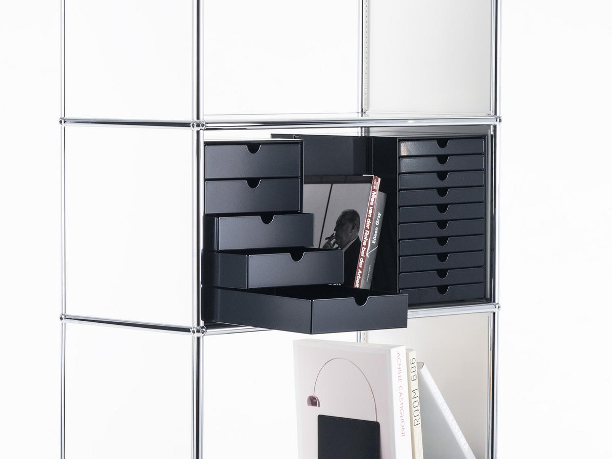 usm haller usm inos kasten set c4 f r usm haller regale. Black Bedroom Furniture Sets. Home Design Ideas