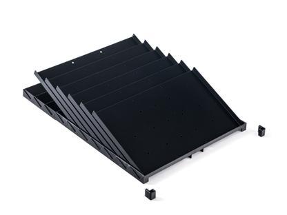 USM Inos Schrägfächer für A6-Schublade (Rollcontainer)