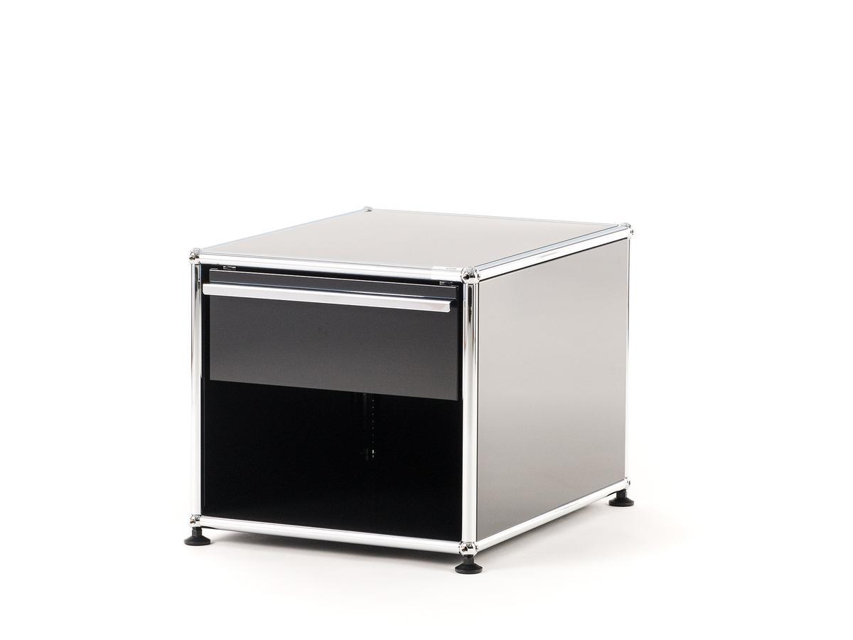 usm haller nachttisch mit schublade. Black Bedroom Furniture Sets. Home Design Ideas