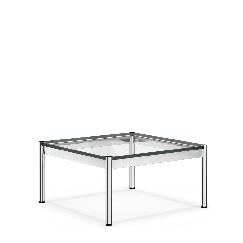 Usm Haller Couchtisch 75 X 75 Cm Glas Transparent Von Fritz