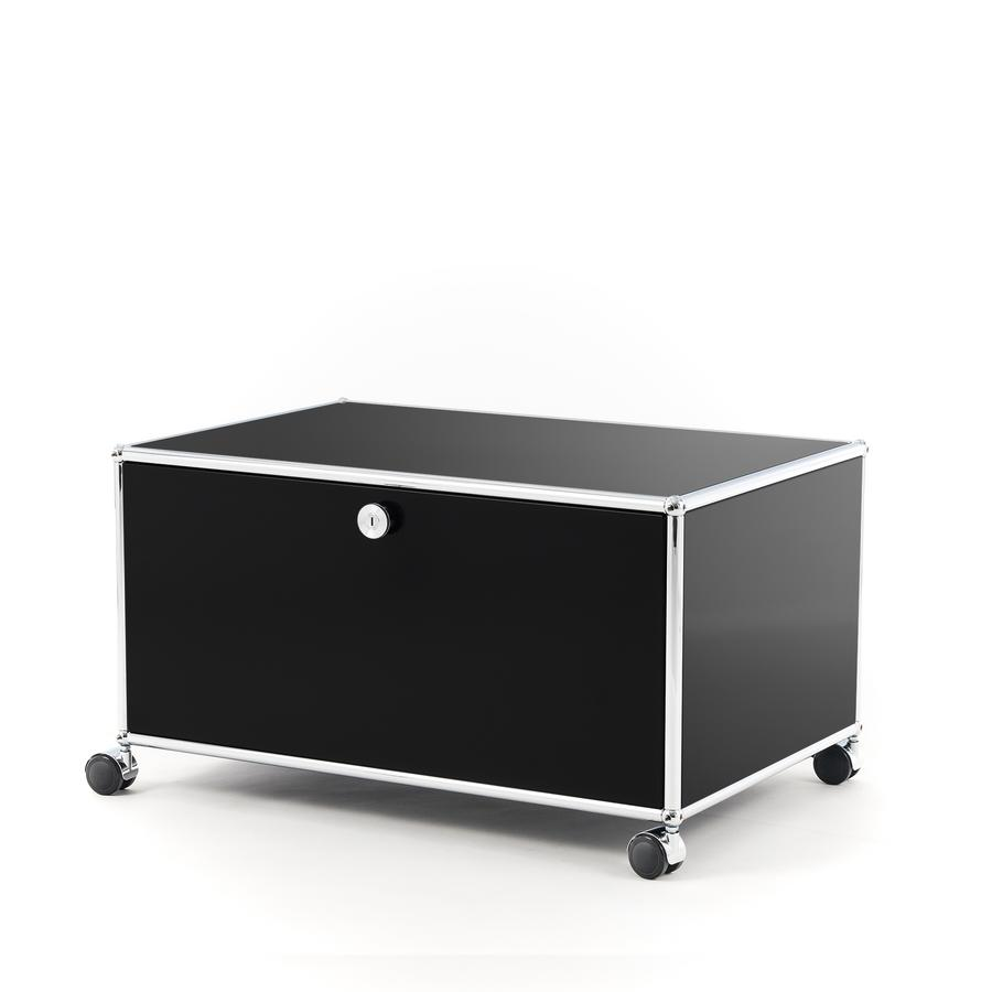 usm haller tv lowboard auf rollen von fritz haller paul sch rer designerm bel von. Black Bedroom Furniture Sets. Home Design Ideas