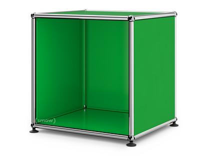 USM Haller Nachttisch offen USM grün