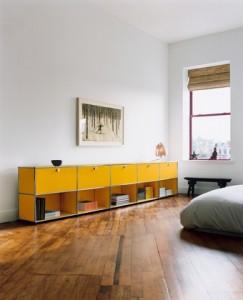 usm haller nachttisch offen von fritz haller paul. Black Bedroom Furniture Sets. Home Design Ideas