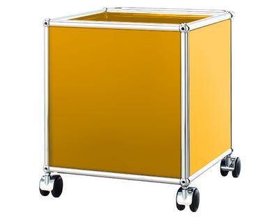 USM Haller Kinder Rollcontainer Goldgelb RAL 1004|H 43 x B 38 x T 38 cm