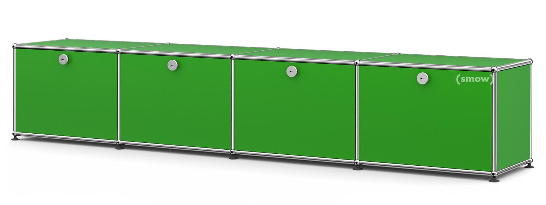 usm haller kinder lowboard usm gr n von fritz haller. Black Bedroom Furniture Sets. Home Design Ideas