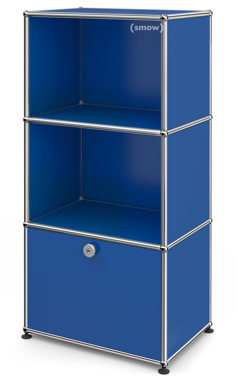 usm haller kinder highboard enzianblau ral 5010 von fritz haller paul sch rer designerm bel. Black Bedroom Furniture Sets. Home Design Ideas