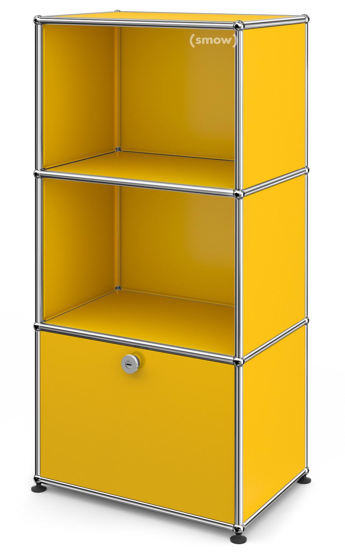 usm haller kinder highboard goldgelb ral 1004 von fritz haller paul sch rer designerm bel. Black Bedroom Furniture Sets. Home Design Ideas